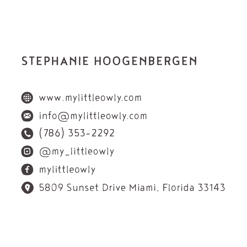 Little Owly Business Cards
