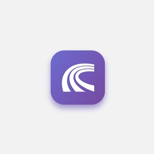 App logo for a cryptocurrency portfolio tracker