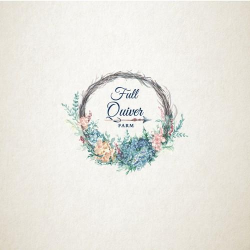 Logo design for farm