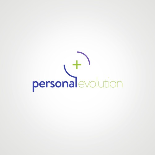Bold logo concept for personal evolution