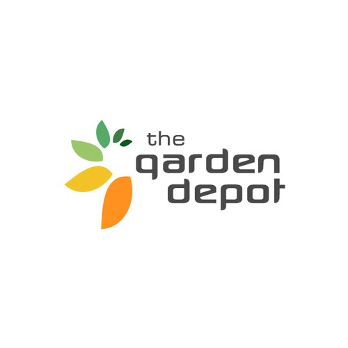 Visual identity for The Garden Depot