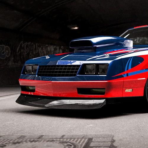 Drag Race Car Livery