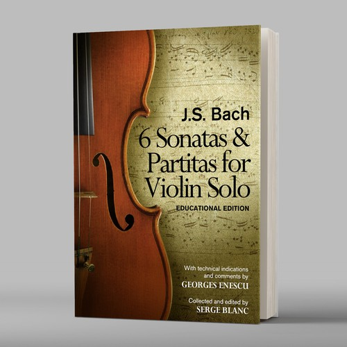 Ebook cover for violin learners and performers