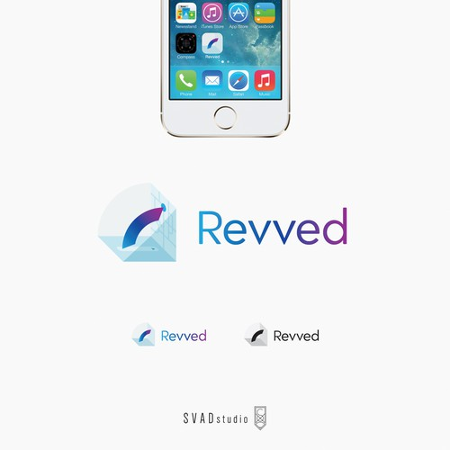 Revved - Uber like app - logo design