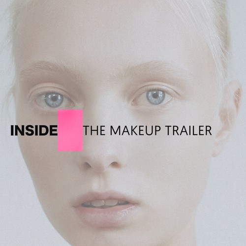Inside The Makeup Trailer Logo Design