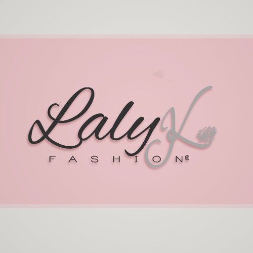 Logo for a woman's fashion brand LalyK