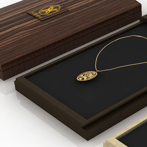 "Create a Unique High-end ""Piece of Art"" Packaging for UtterChicfashion jewelry brand, which says Luxury Quality & Style"