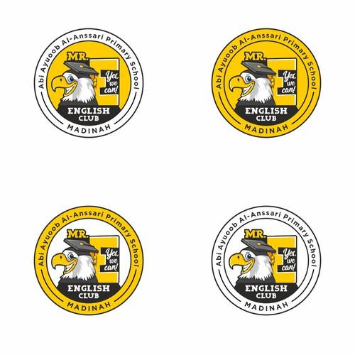 Funny Logo Concept for MR. E