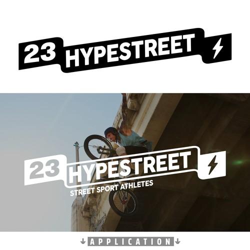 LOGO FOR 23HYPESTREET