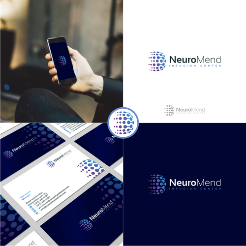 neuromend new logo and identity