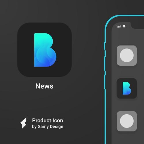 Yet Futuristic iOS App Icon Design