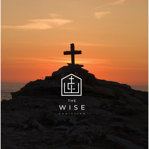 Logo concept for The Wise Christian