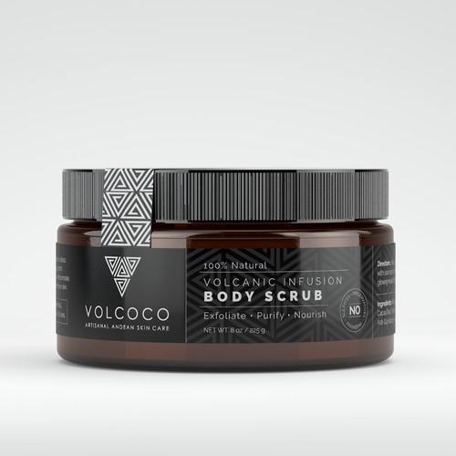 Volcanic Body Scrub