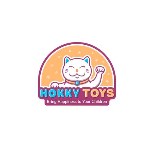 Logo Design for Hokky Toys