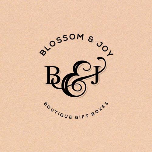 Blossom & Joy logo design