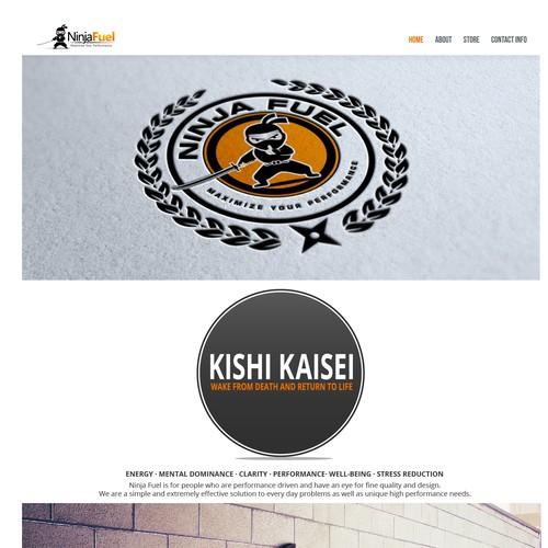 NinjaFuel Web Design