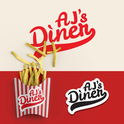 Classic American Logo for American Diner