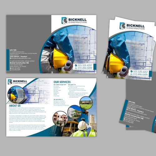 Bicknell Construction needs a new brochure design