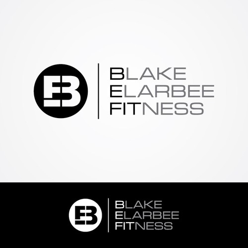 Bold logo concept for Blake Elarbee Fitness.