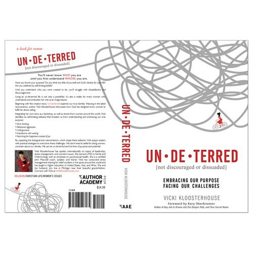 """Book cover for """"Un-de-terred"""""""