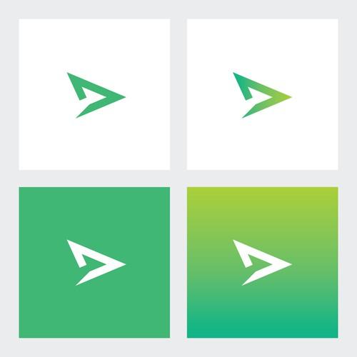 Abstract Plane Logo Design