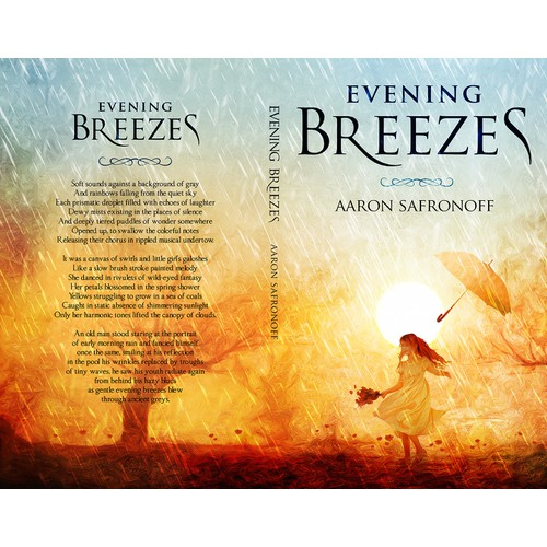 Cover Design for an award-winning novelist!