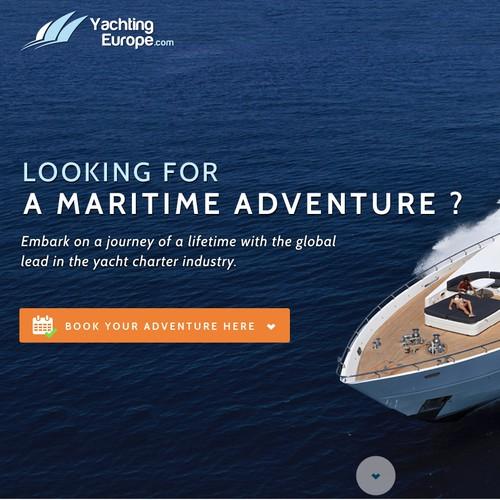 A Yacht Booking website