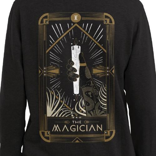 Tarot Card inspire T-Shirt Design