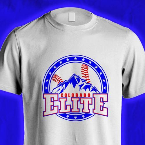 t shirt for nationally ranked youth baseball team