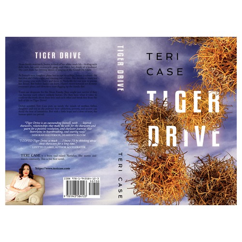 "Book cover for ""Tiger Drive"""