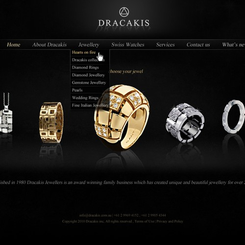 Jewellers Website Redesign