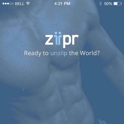 Logo for dating gay iOS App