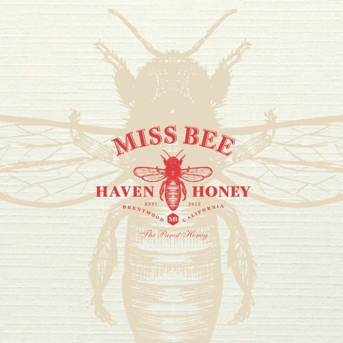 Miss Bee logo design