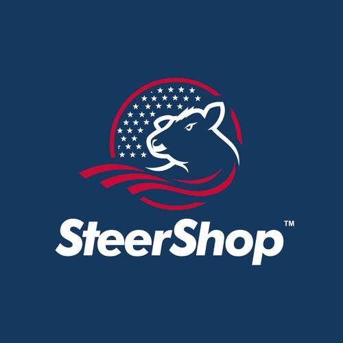 Powerfull SteerShop Logo