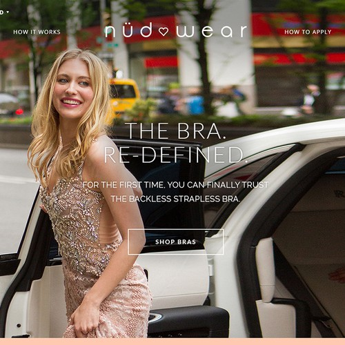 Lingerie E-commerce Website - Nudwear