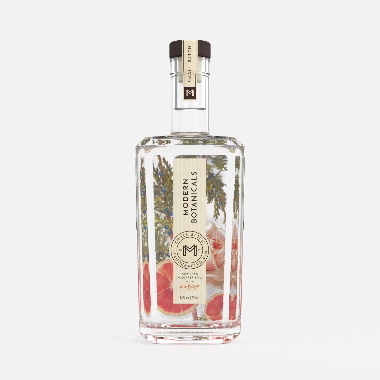 logo design and packaging design for the craft gin company