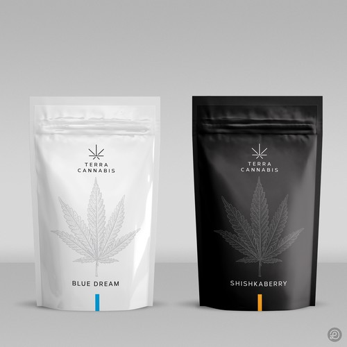 Cannabis packaging design