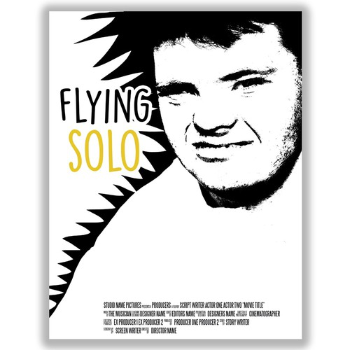 Flying solo poster