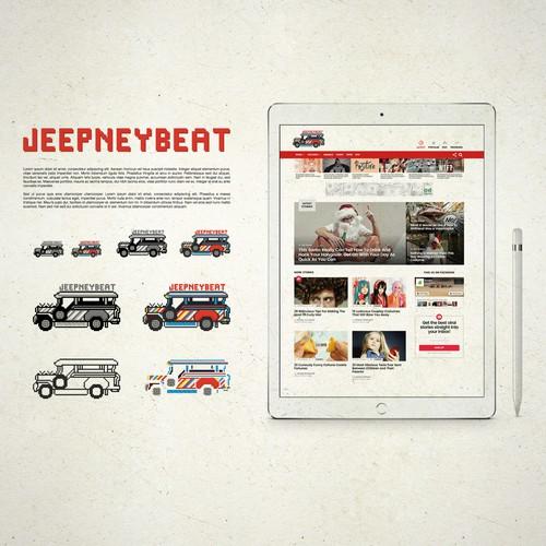 Jeepney Beat Pixel Design