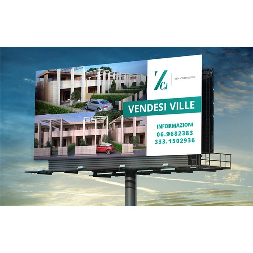Bold Property Billboard/Sign Design