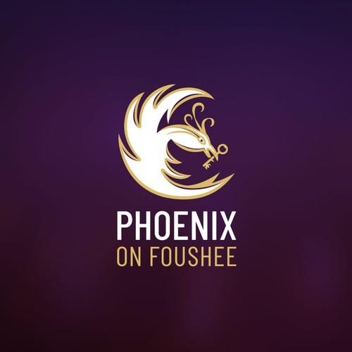Phoenix logo concept.