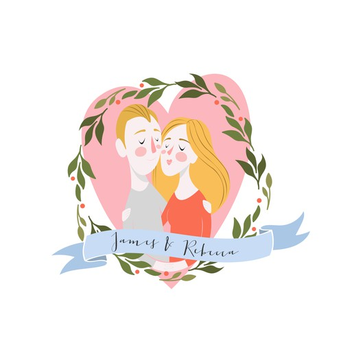 Illustration for Wedding Stationery