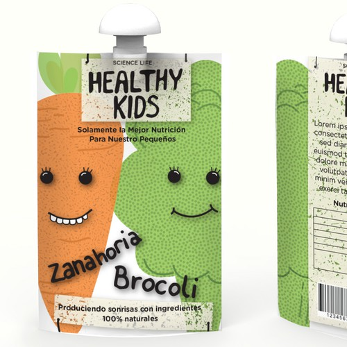 Healthy Kids - Natural and healthy foods for infants and toddlers