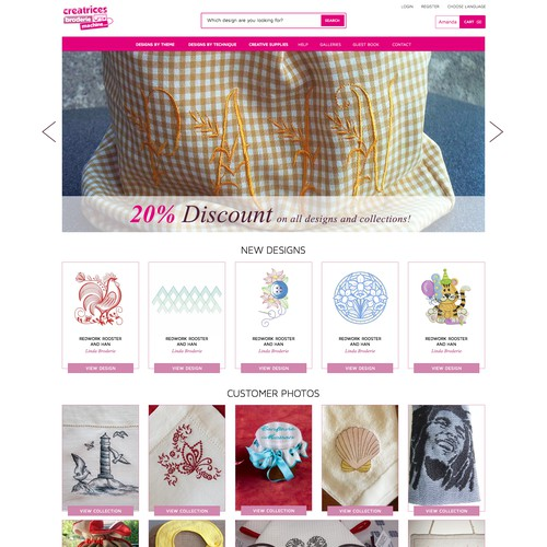 Embroidery Website