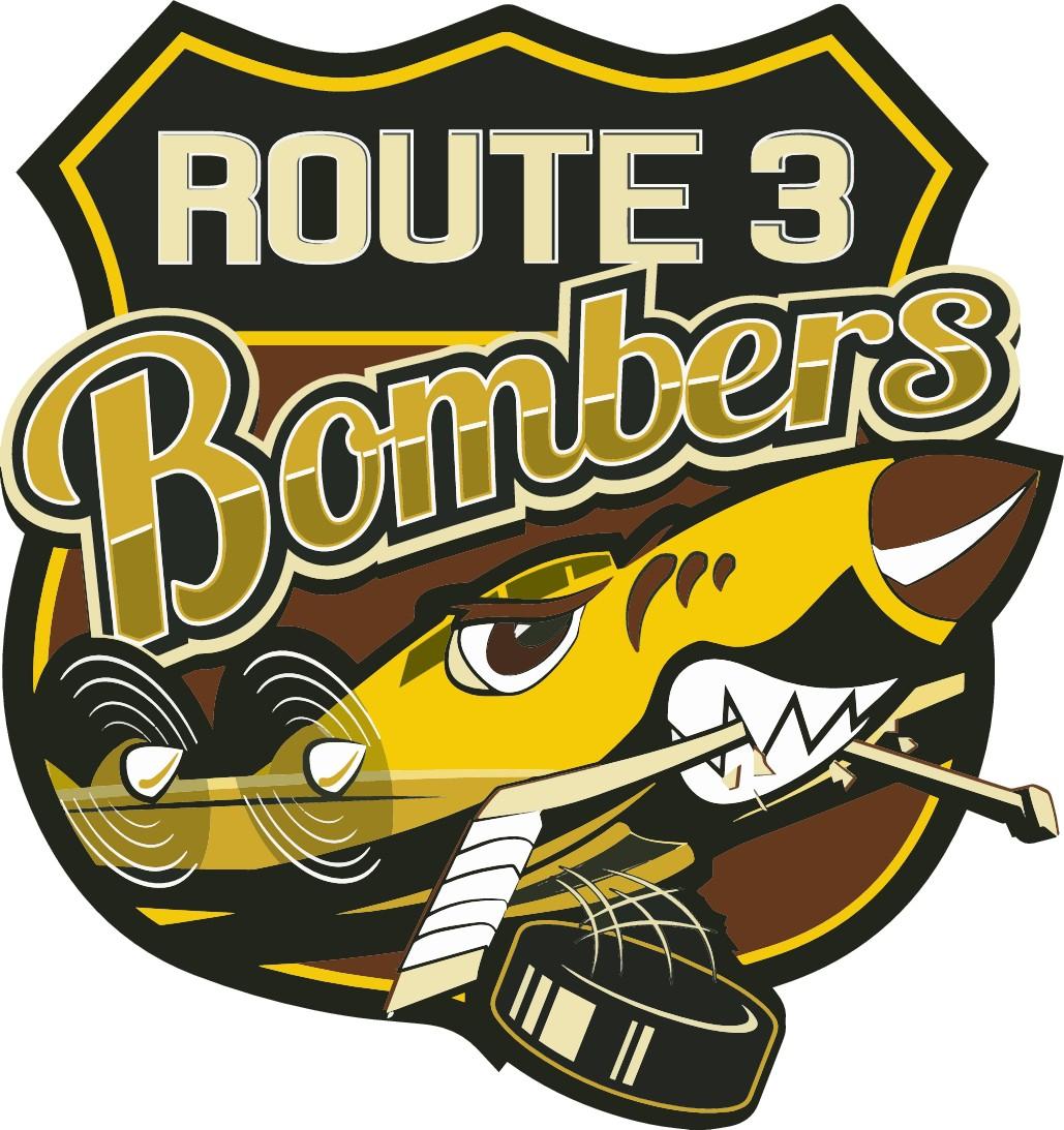 Vintage Style Ice Hockey Logo