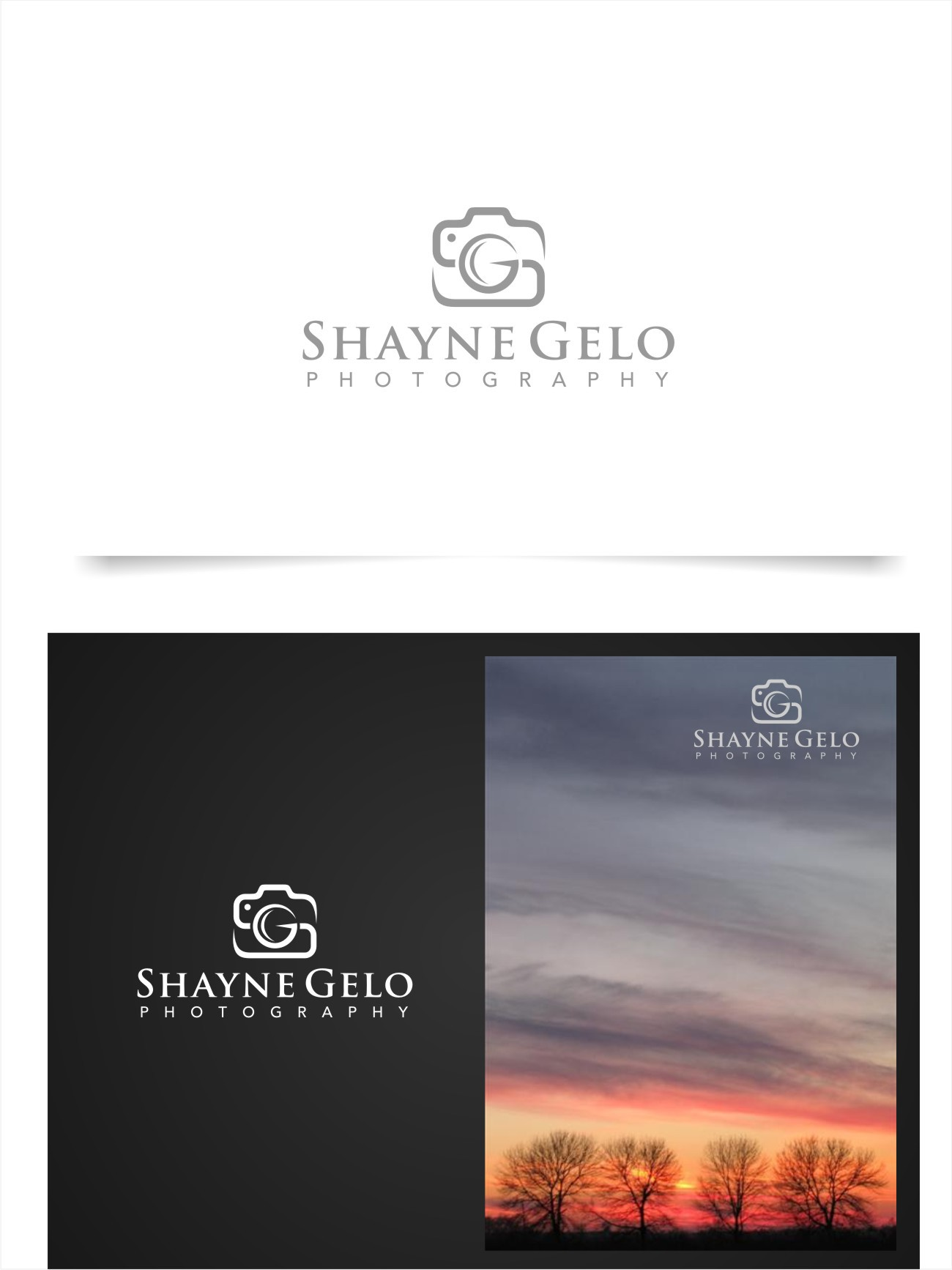 New logo wanted for Shayne Gelo Photography