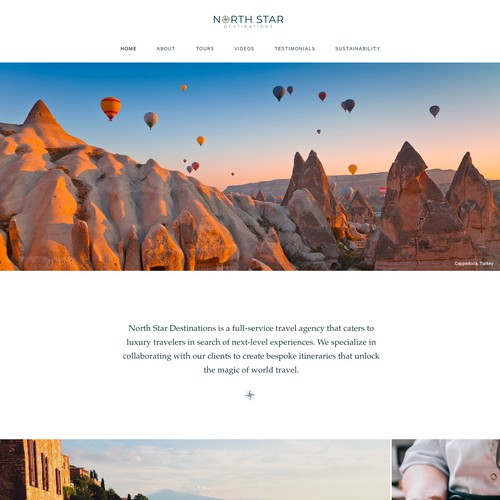 Luxury Travel Agency Website