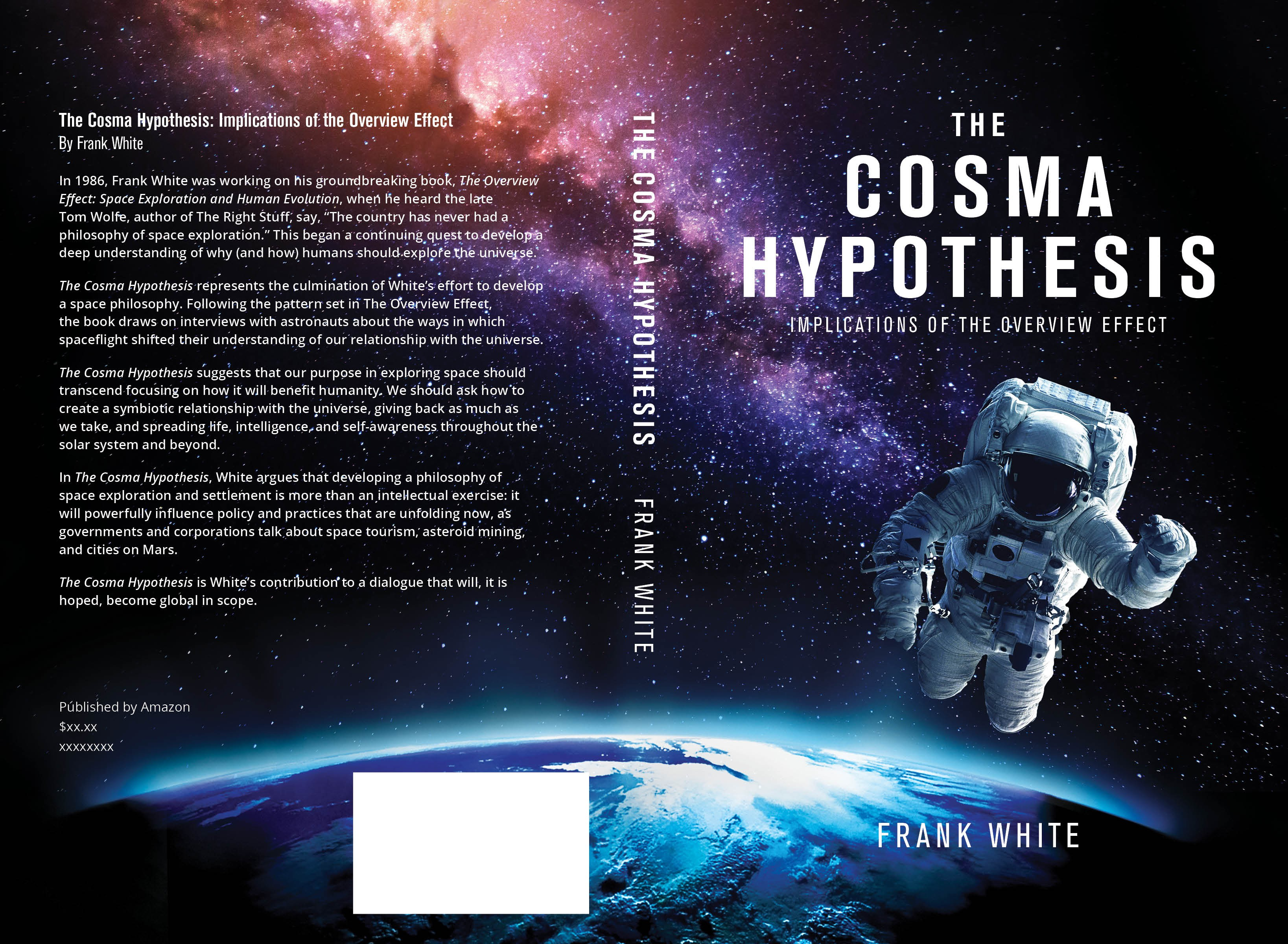 Book Cover: Prominent Author Frank White: The Cosma Hypotheis