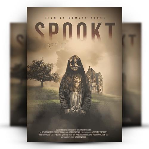 Horror Thriller Movie Poster Design