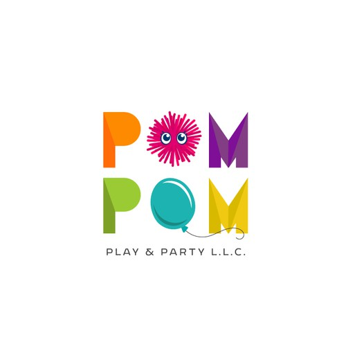 Logo and Brand Guide for Pom Pom Play & Party